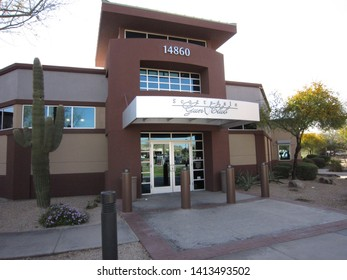 Scottsdale, Ariz. / US - March 16, 2011: Federal agents maintained surveillance on gun shops like Scottsdale Gun Club during Operation Fast and Furious.
