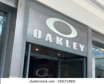 Scottsdale, Arizona - February 2, 2019: Oakley Storefront