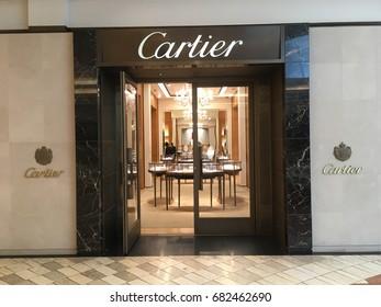 SCOTTSDALE, ARIZONA, JULY 22, 2017: Cartier Retail Store