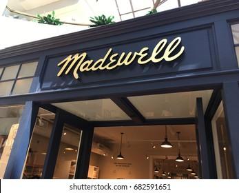SCOTTSDALE, ARIZONA, JULY 22, 2017: Madewell Retail Store