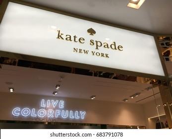 SCOTTSDALE, ARIZONA, JULY 22, 2017: Kate Spade Retail Store