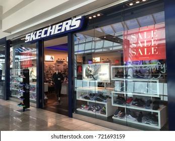SCOTTSDALE, ARIZONA, SEPT 25, 2017: Sketchers Retail Store