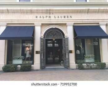 SCOTTSDALE, ARIZONA, SEPT 9, 2017: Ralph Lauren Retail Store