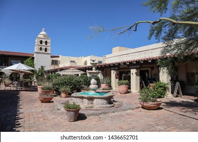 Scottsdale, Arizona / USA June 14, 2019: Village At Pinnacle Peak General Store