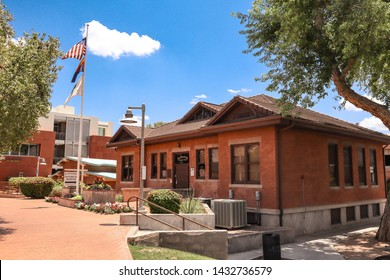 Scottsdale, Arizona / USA June 2, 2019: Scottsdale Historical Museum