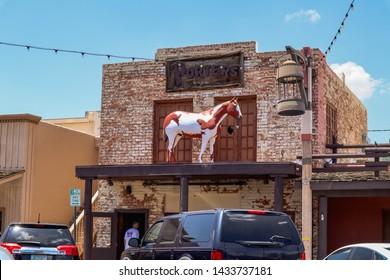 Scottsdale, Arizona / USA June 2, 2019: Porters Boot Corral