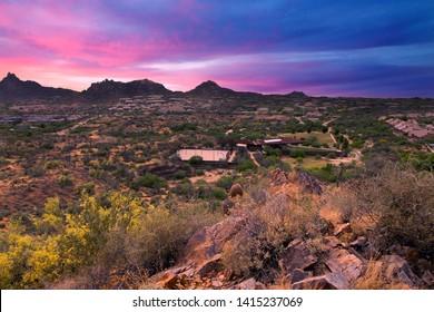 "Scottsdale, Arizona / USA May 27, 2019: George ""Doc"" Cavalliere Park"