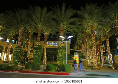 SCOTTSDALE, AZ -23 FEB 2018- View of the True Food health food restaurant in the Scottsdale Quarter mall in Scottsdale, Arizona.