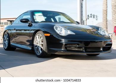 Scottsdale, AZ, USA - 07 July, 2017: Porche 911 GT3 Model 2004