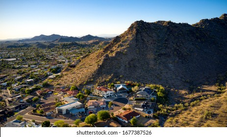 Scottsdale, AZ views and landscapes drone photography