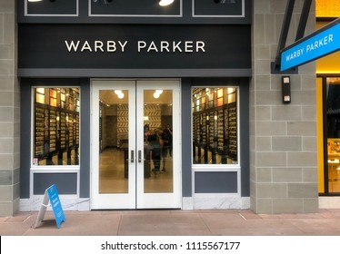 Scottsdale, Az/USA -6.15.18-JAND, Inc  (Warby Parker), American online retailer of prescription glasses & sunglasses, they also feature retail locations in US and Canada.