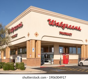 Scottsdale,Az USA 1.21.21 Walgreens has provided more than 1.3 million COVID-19 vaccinations as part of state and local jurisdiction distribution plans.