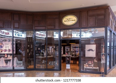 Scottsdale,Az/USA - 10.30.18  The Art of Shaving is a United States retail business of high-end men's shaving and skin care accessories. The first store was founded by Eric Malka and Myriam Zaoui.