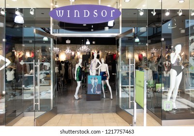 Scottsdale,Az,USA - 10.30.18 Windsor Fashions Inc. retails women's apparels. The Company offers prom dresses, tops, jackets, bottoms, shoes, and accessories. Windsor Fashions operates in the US.