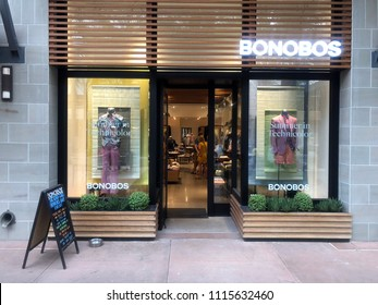 Scottsdale,Az/USA - 6.15.18: Bonobos is an e-commerce-driven apparel subsidiary of Walmart headquartered in New York City that designs and sells men's clothing.