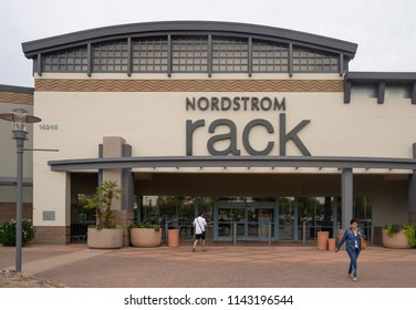 Scottsdale,Az/USA - 7.20.18 Nordstrom Rack is a fashion retailer based in the US which is owned by Nordstrom and has both brick and mortar stores and an E-commerce website.