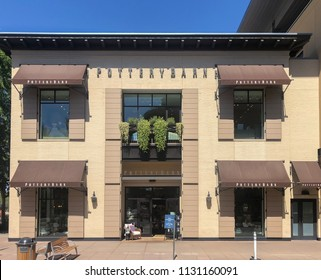 Scottsdale,Az/USA - 7.2.18:  Pottery Barn is a US-based upscale furnishing store chain with stores in US, Canada, Mexico, the Philippines & Australia is a wholly owned subsidiary of Williams-Sonoma.