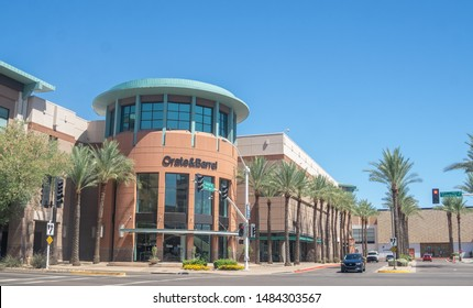 Scottsdale,Az/USA -7.7.19  Scottsdale Fashion Square Mall a luxury shopping mall located in the downtown area of Scottsdale, Arizona. and is among the top 30 largest malls in the US.