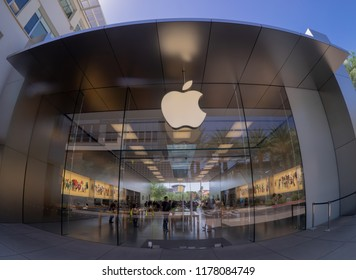 Scottsdale,Az/USA-9.10.18:  Apple chief executive Tim Cook  announced that Apple has become the first publicly traded U.S. company to hit a trillion-dollar valuation.
