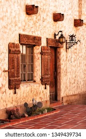 Scotty's Castle (also known as Death Valley Ranch) is a two-story Mission Revival and Spanish Colonial Revival style villa located in the Grapevine Mountains of northern Death Valley in Death Valley N