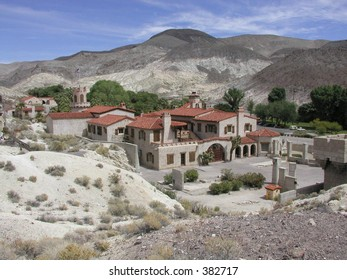 Scotty's Castle in Death Valley National Park, California