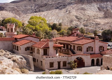 Scotty's Castle or is also known as Death Valley Ranch in Death Valley National Park, California.
