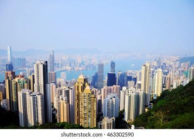 Scram on top of Hongkong