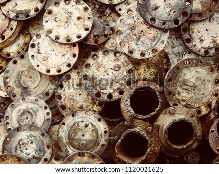 Scrap Car Machinery Parts Scrap Parts Stock Photo (Edit Now