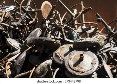 Scrap metal.