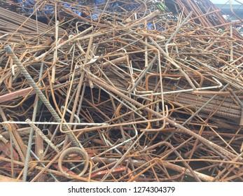 Scrap steel construction