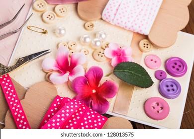 Scrapbooking Craft Materials Scrap Paper Tools And Decor