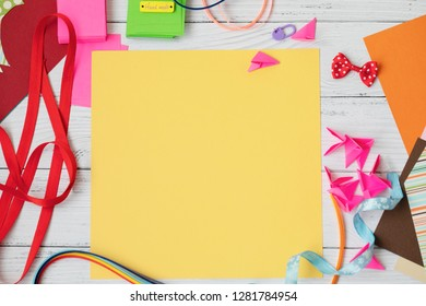 Scrapbooking for wedding or other festive decorations . Tools for scrapbooking