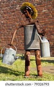 scrap-metal robot