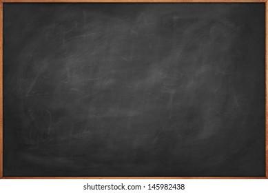 Scratched blackboard copy space