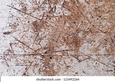 Scratched the surface enamel abstract background