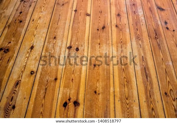 Scratched Wooden Floor Flat Stock Photo Edit Now 1408518797