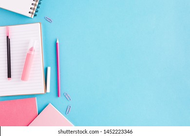 Scratchpad and written materials on desk