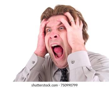 Screaming Worker