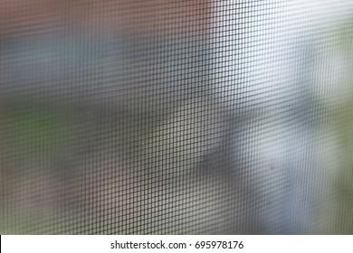 Screen Door Close up macro