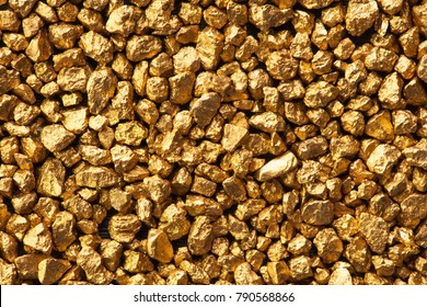 Screen full of gold nuggets.