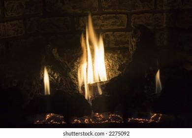 Screened in Fireplace - 2
