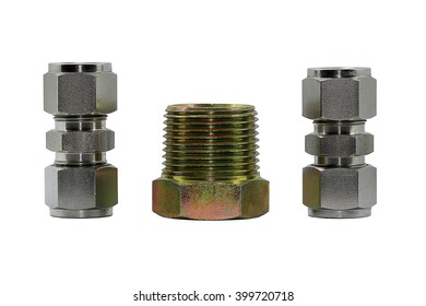 Screw fitting compression