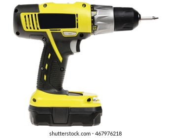 screwdriver on a white background. isolate