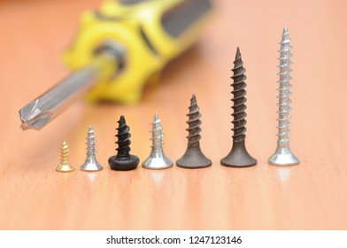Screwdriver and screws