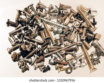 screws nuts bolts washers screws loose in assortment