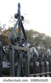Scrolled Wrought Ironwork
