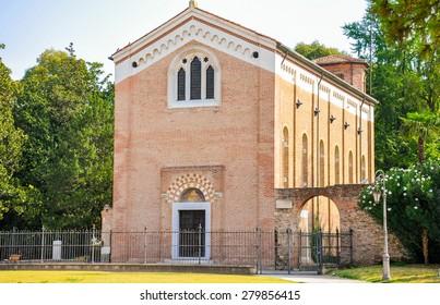Scrovegni Chapel in Padova (Italy)