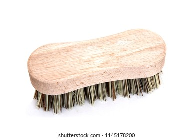 Scrubbing Brush on a white background