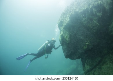 Diving Into Lake Images, Stock Photos & Vectors | Shutterstock