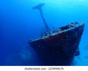 Scuba Diving Atun Wreck in Rabaul / Kokopo , East New Britain , Papau New Guinea . This wreck is located at Little Pigeon Island